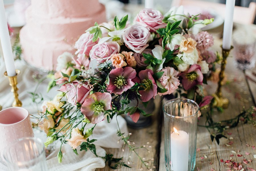 Hochzeitsinspiration In Rosa Friedatheres Com