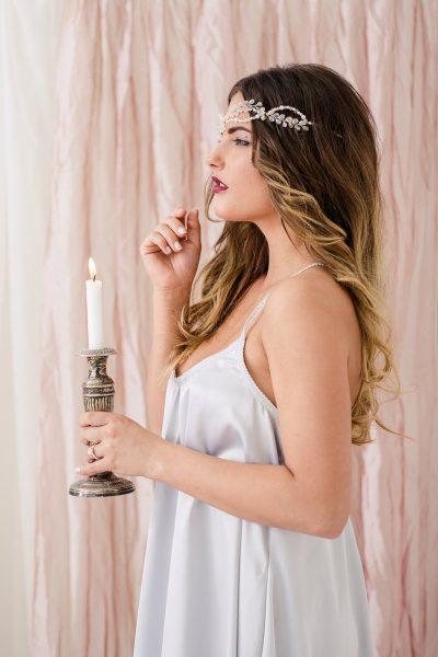 Romantisches Braut Boudoir