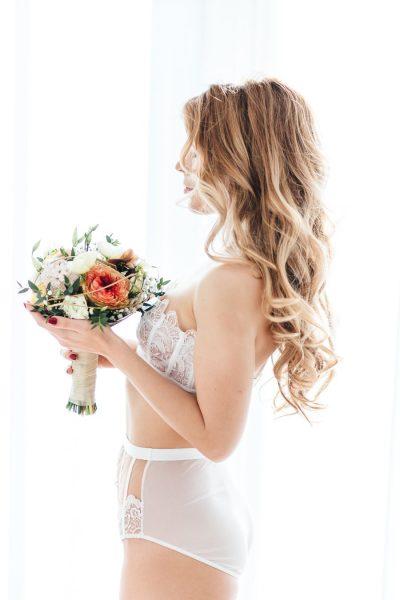 Intimes Braut Boudoir