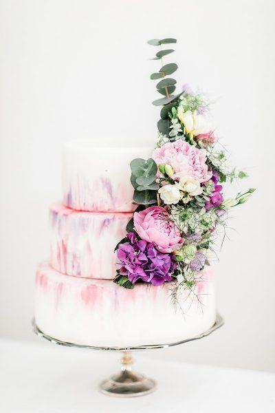 Ein Sweet Table in Marmor & Rosé