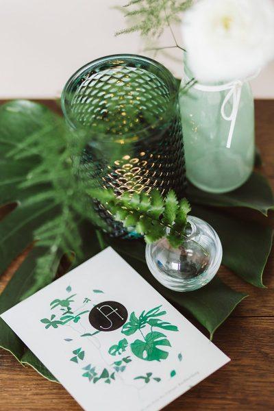 Inspiration in Weiß und Grün