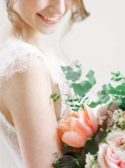 Hochzeitskonzept in Apricot & Rosa