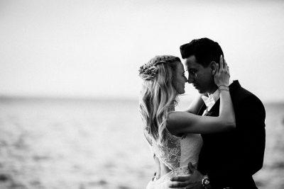 Romantische Hochzeit im April