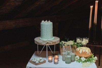 Matcha inspiriertes Hochzeitskonzept