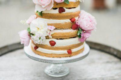 Hochzeitstorten mit Früchten