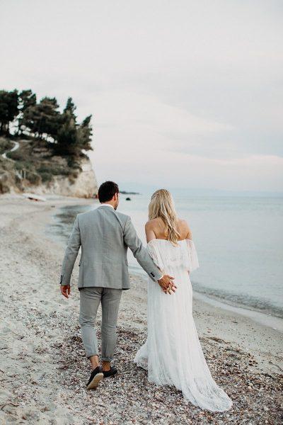 Strandhochzeit in Griechenland