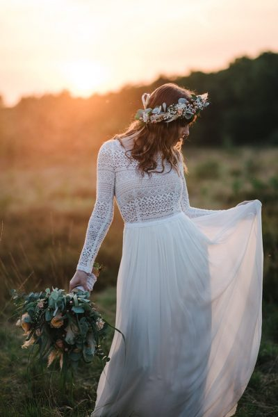 Bohemian bridal editorial