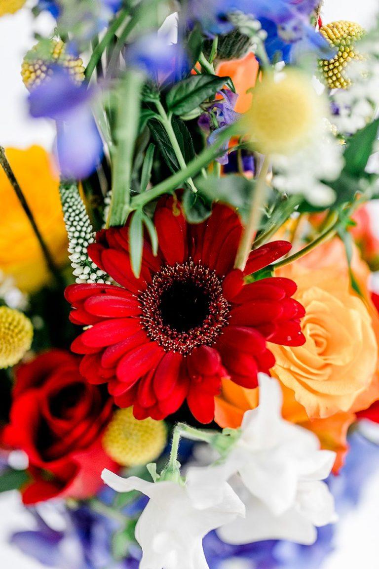 Bunte Blumen Fur Die Hochzeit Friedatheres Com