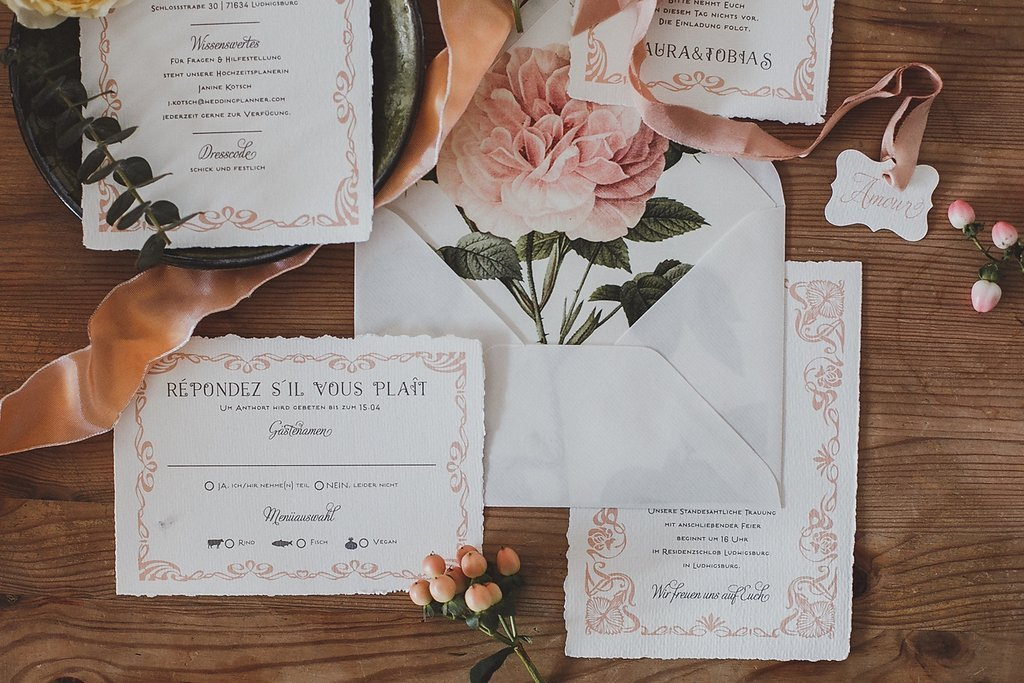 Vintage Hochzeit Papeterie Friedatheres Com