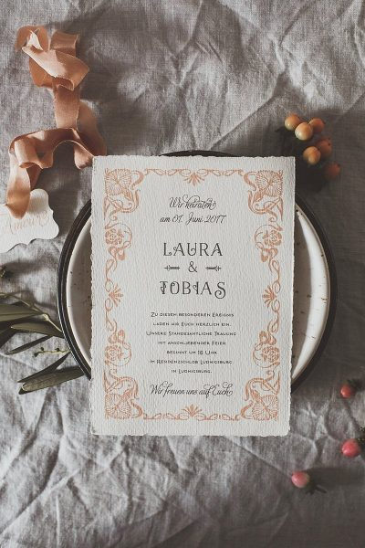 Hochzeitspapeterie L'AMOUR