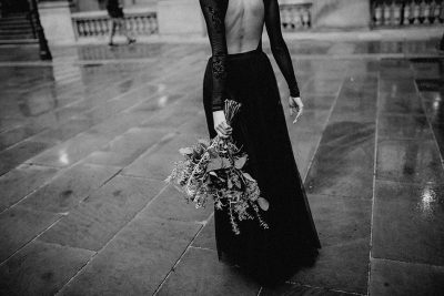 Black bridal editorial