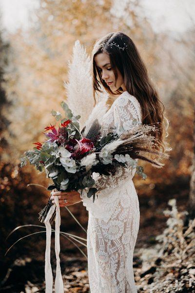 Herbstliches bridal editorial
