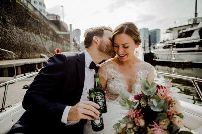 Urbane Hochzeit