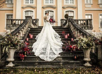 Winterlich elegante Hochzeitsinspiration