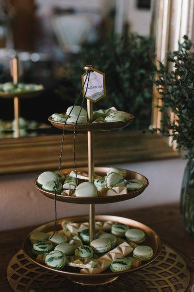 Sweet Table im Geode Stil