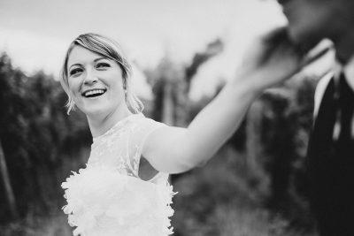 Natürliche Scheunen-Hochzeit