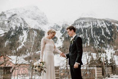 Elegante Winterhochzeit