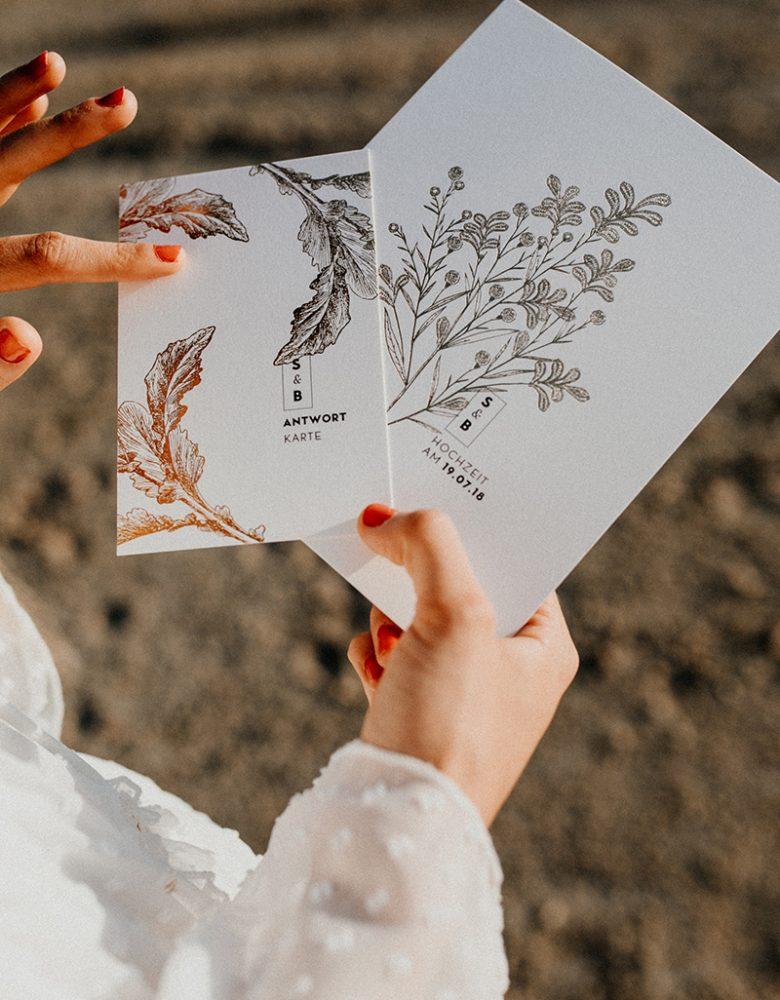 Papeterie Hochzeit Gold (1)