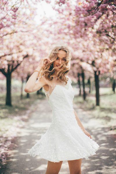 Kirschblüten Braut-Inspiration