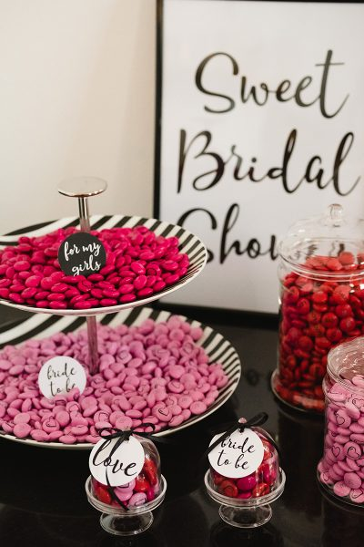 Bridal Shower mit My M&M's