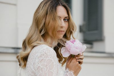Bridal Inspiration mit Pfingstrosen