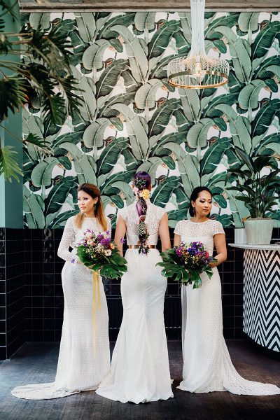 Violet Exotic Wedding