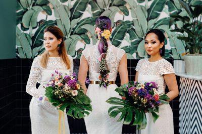 Violet Exotic Wedding