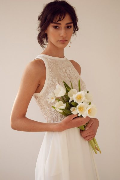 Soft rural bridal editorial