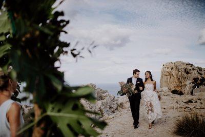 Nur wir zwei: Elopement auf Mallorca