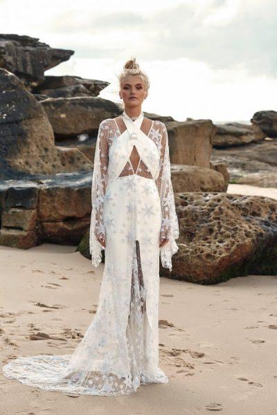 Brautkleider mit Neckholder
