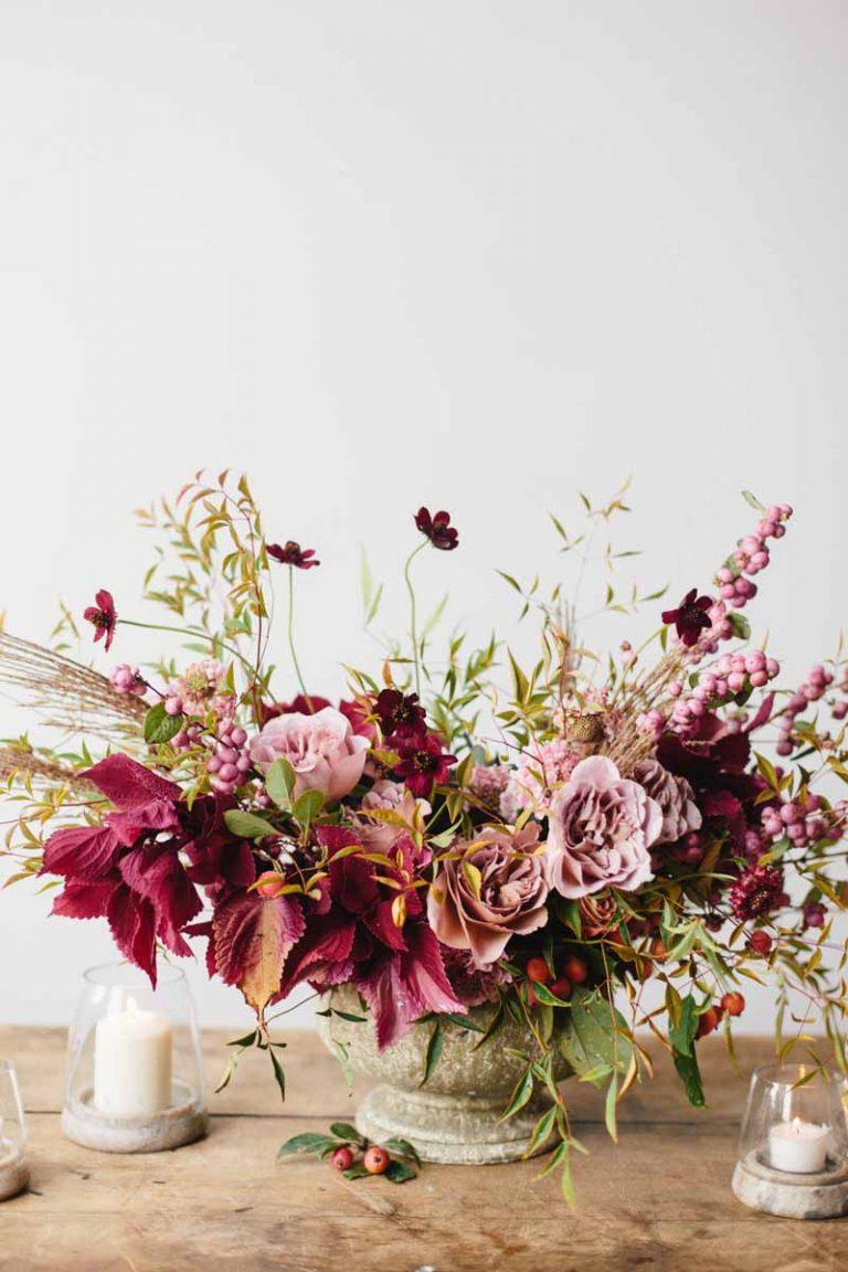 Blumen Hochzeit Herbst