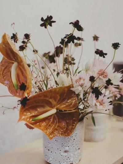 Herbstliche Blumenideen für die Hochzeit