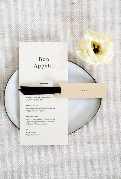 Elegante Hochzeitsinspiration