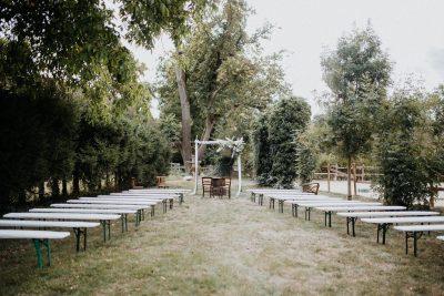 Romantische DIY Hochzeit