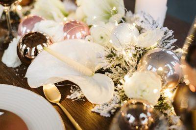 Hochzeitsinspiration in Roségold