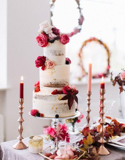 Hochzeitstorte Pink Friedatheres Com
