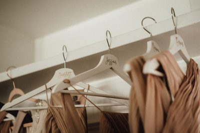 Aufkleber für Kleiderbügel