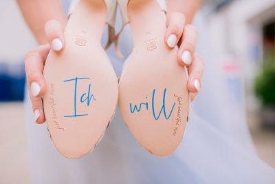Schuhaufkleber individuell