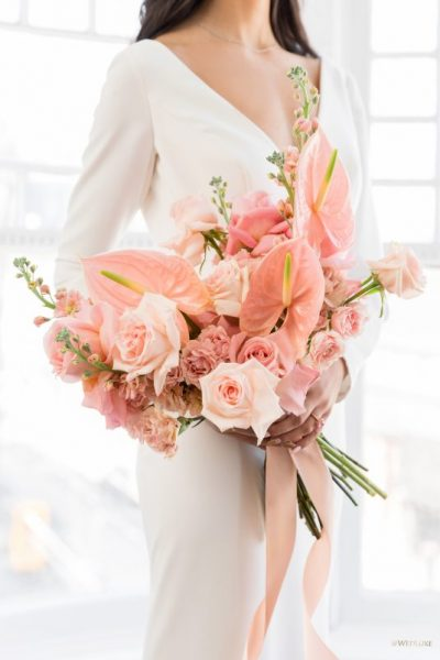 Brautsträuße mit Anthurien