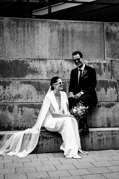 Moderne Hochzeit in Hamburg