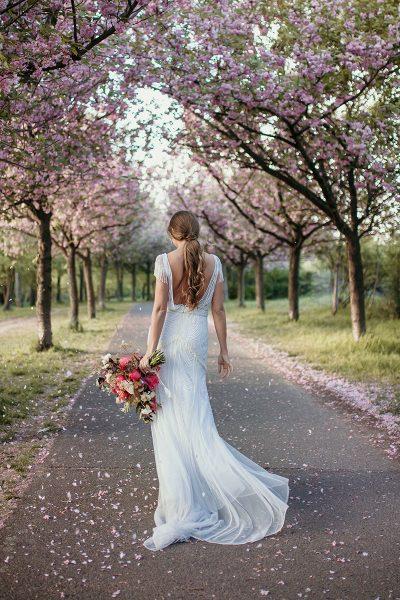 Tilda Knopf: Brautmode im 20er Jahre Stil