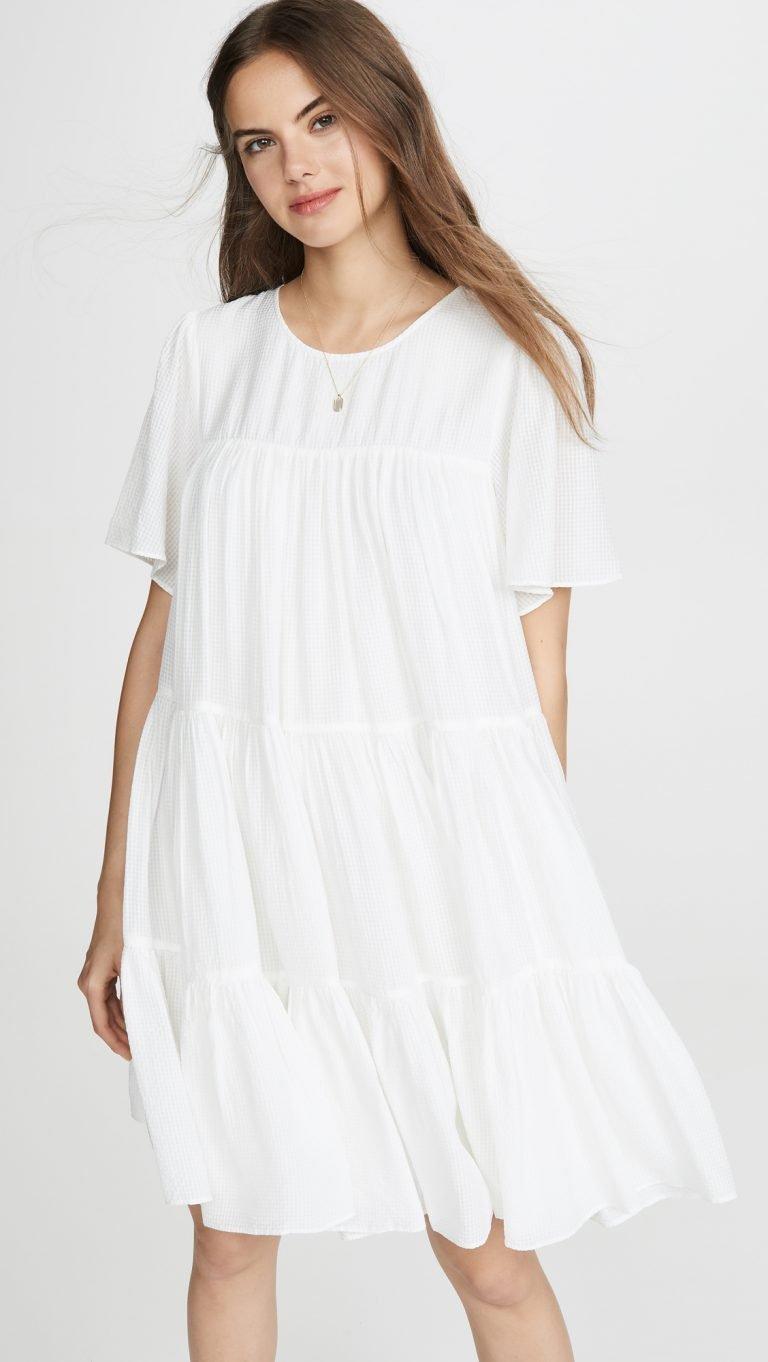schöne weiße sommerkleider online kaufen - frieda therés