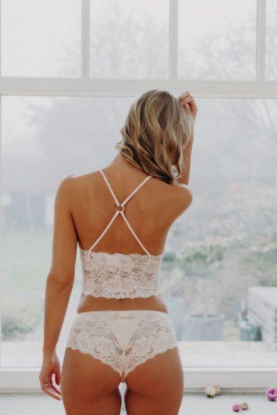 Unterwäsche für die Braut