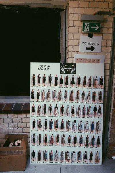 Backstage: Fashion Week