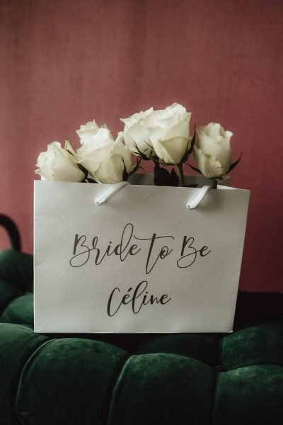 Bride-to-be: Céline