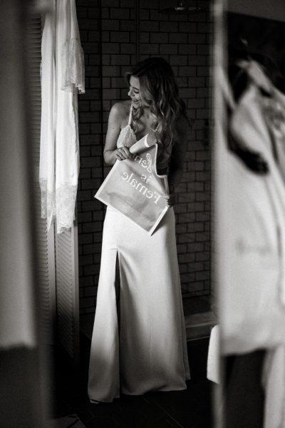 Bride-to-be: Céline