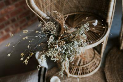 Im Trend: Brautsträuße mit Trockenblumen