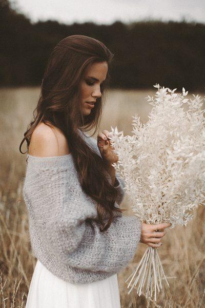 Get cosy: Brautpullover