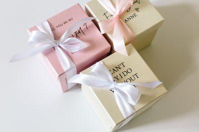 Geschenkbox Pearl Quadratisch