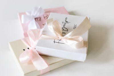 Geschenkbox Pearl flach